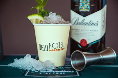 Ballantine's goes on Marrakech adventure with Beat Hotel
