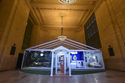 Behr Paint creates pop-up 'Trend Home' in New York