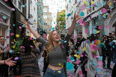 Boots' petal drop event to take over St Christopher's Place