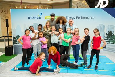 British Gas tours sustainable dance competition across the UK