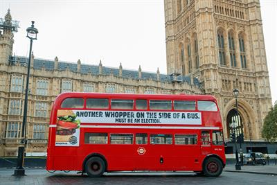 Pick of the Week: Burger King trolls politicians with whopper of a stunt