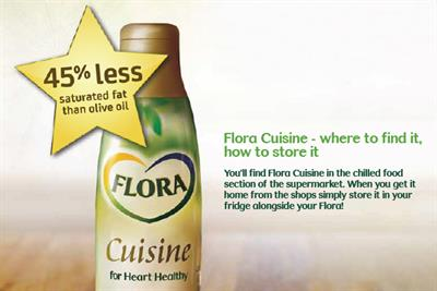 Vernon Kay and his mum front Flora cooking oil push