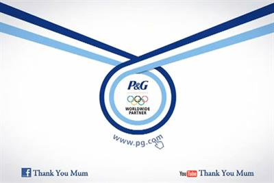 P&G launches London 2012 Olympics campaign