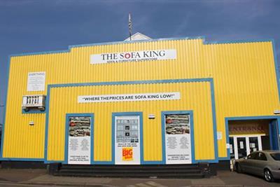 ASA bans 'Sofa King Low' slogan