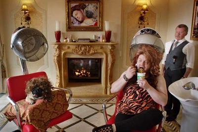 Pot Noodle changes tack with WAG ads