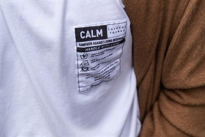 Havas and CALM team up to create self-care labelling for Topshop and Topman