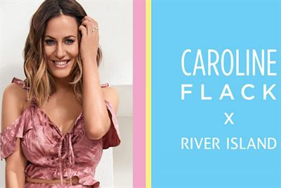 River Island opens pop-up to showcase Caroline Flack collection