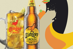 Because takes Ginger Grouse to Foodies Festival