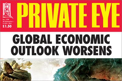 Private Eye replaces Ten Alps with Redactive
