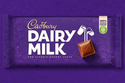 Cadbury's new look will help it cut through both online and offline