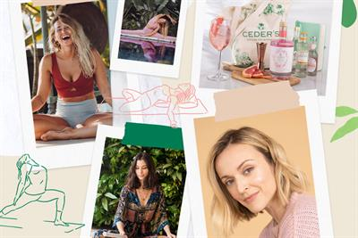 Pernod Ricard's alcohol-free gin Ceder's taps Fearne Cotton for wellness retreat