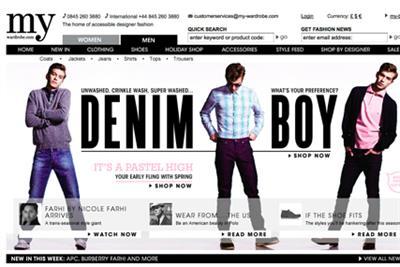 My-wardrobe.com plans heavyweight marketing drive