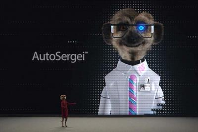 Comparethemarket introduces new robot meerkat AutoSergei