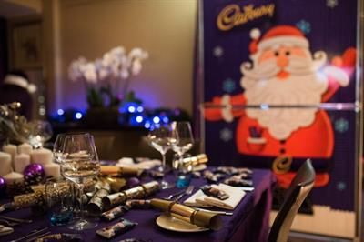 In pictures: Cadbury recreates Christmas at home for seasonal press launch