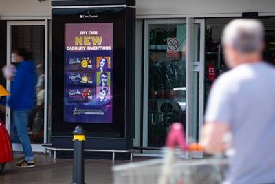 Cadbury shares polling updates for next Dairy Milk bar in DOOH campaign