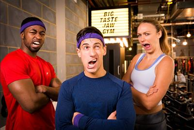 Event TV: Cadbury to stage jaw-themed fitness session