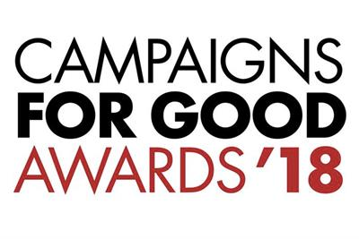 Campaigns for Good Awards 2018: Winners revealed