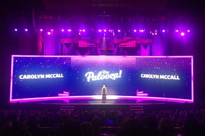 Carolyn McCall promises change at ITV Palooza