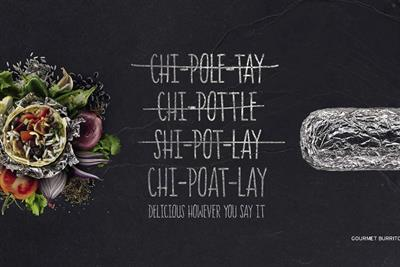 Chipotle helps the British with pronunciation in first UK campaign