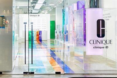 Clinique creates pop-up with skincare quiz