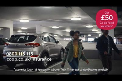 Co-op Insurance to target in-the-market consumers using Sky AdSmart