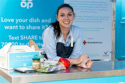 In pictures: Co-op serves its 'unpredictable summer menu'