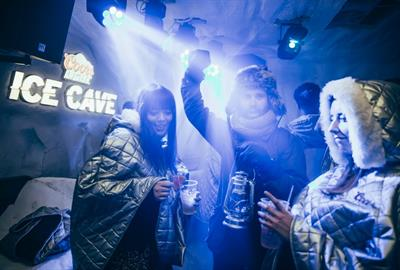 Behind the scenes: Coors Light brings ice cave to Sheffield