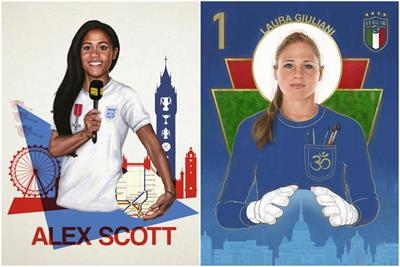Twitter, Nike, Three and more pitch in on Women's World Cup