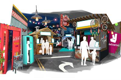 Deliveroo creates food festival with hidden diner and tuk-tuk rides