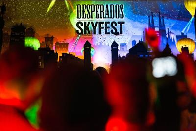 Desperados became a 'credible voice' in party culture with hot air balloons and light shows