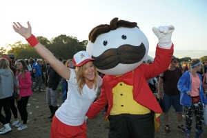 In pictures: Pringles launches 'festival within a festival' at V