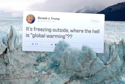 Campaigners create Twitter 'fact avalanche' to combat climate untruths