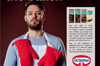 Dr. Oetker launches 'Dare to Bake' campaign