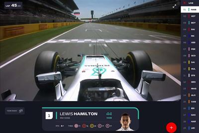 Formula One marketing chief: we're not trying to replace broadcasters