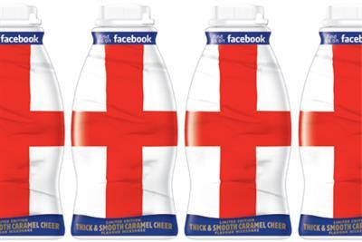 Frijj unveils limited edition St George's Day bottle