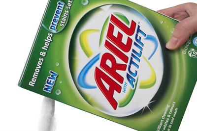 Which laundry detergent brand is most prominent online? Brand barometer