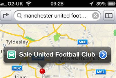 Apple lambasted over faulty Maps app