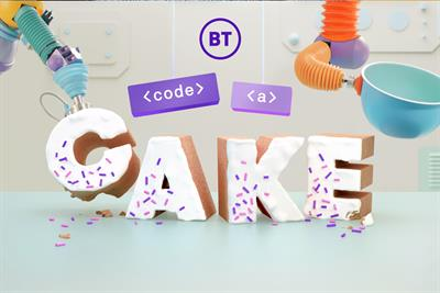 BT combines robots and cake for coding experience