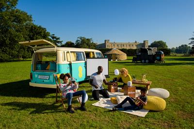 EE takes glamping to new levels with tech campervan experience