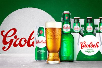 Grolsch returns to UK market with lower-alcohol pilsner
