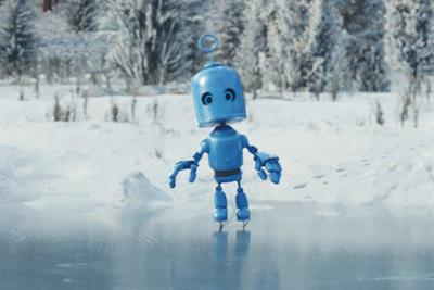 Bubl takes to the ice in O2's Christmas campaign