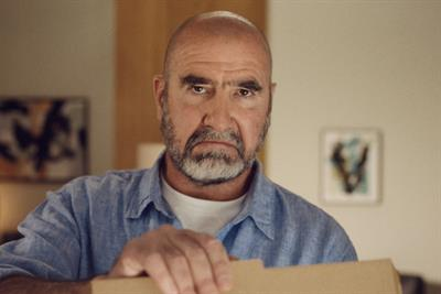 Eric Cantona orders in for Just Eat's Uefa Euro 2020 campaign