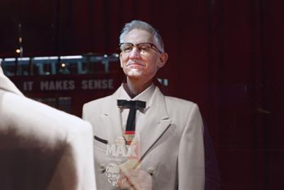 Gary Lineker 'becomes' Colonel Sanders in Walkers-KFC collab