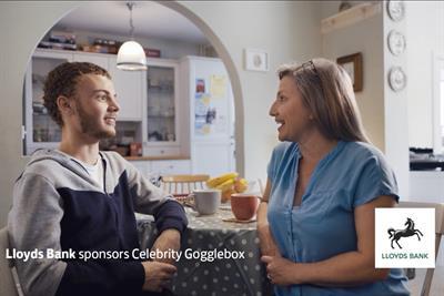 Lloyds Bank to sponsor Celebrity Gogglebox on Channel 4