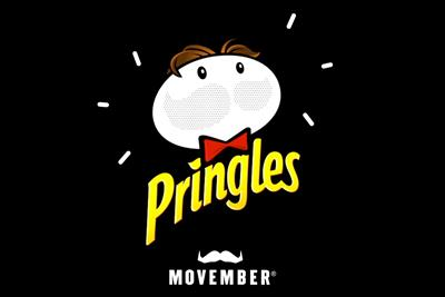 Pringles drops mascot's moustache for first time in 52 years