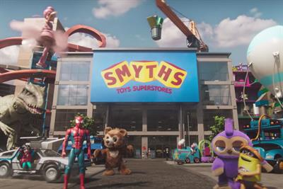 Smyths, JD and Sports Direct outperform usual suspects in YouTube Xmas ads chart