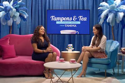Tampax tackles tampon discomfort in advertising first
