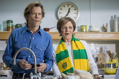 Delia Smith combines cooking with football in latest EE ad