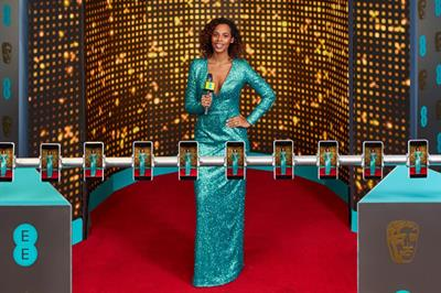 EE trials 'Style Scanner' at Bafta's red carpet show