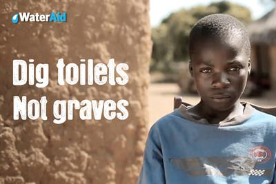 WaterAid hires Now for brand and fundraising work